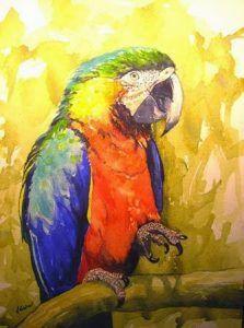 Der Kaufmann und der Papagei | Heitere Ballade