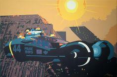 Blade Runner - Spinner Art