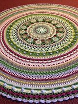Mandala with us. The Queen Mandala is designed by Annamarie Esterhuizen - Proudly South African. You can order the MoYa yarn from the online shop.- FREE PATTERN!!!