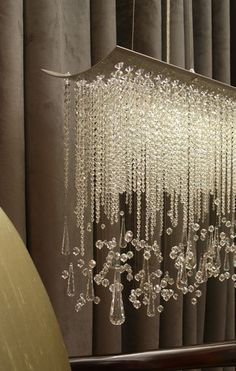 Spring thaw crystal chandelier modern!!! Bebe'!!! Love this contemporary chandelier!!!
