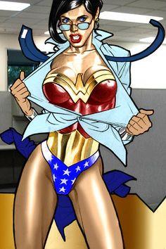 #wonderwoman #dccomics #heroines