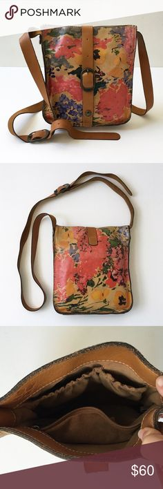 Patricia Nash Painted Leather Cross Body Bag❤️ ... Patricia Nash Bags Crossbody Bags