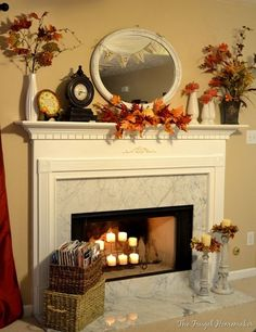 Image result for how to dress a fireplace
