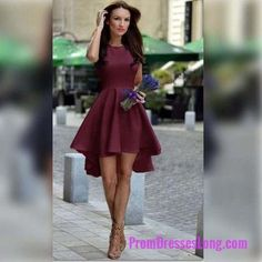 Burgundy Homecoming Dress,Chiffon Homecoming Dresses,Homecoming Gowns, Party Dress,Short Prom Dress, Sweet 16 Dress,Homecoming Dresses MT20180671