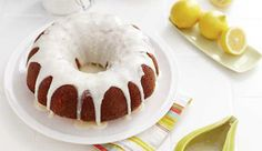 Recipe: Lady bird lemon cake  I love anything with lemon and who doesn't love a good bundt cake?