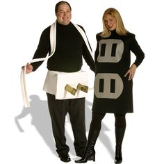 Plug & Socket Couples Set Adult Plus Costume Includes socket costume and plug costume. Does not include undershirts, tights, shoes, or pants. Weight (lbs) 1.67 Length (inches) 20 Width (inches) 15 Hei