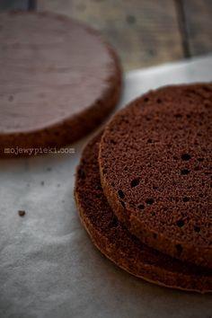 Cocoa sponge cake, the best  no baking powder