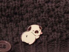 Doggo Butt Butt Enamel Pins by Celia Tang — Kickstarter