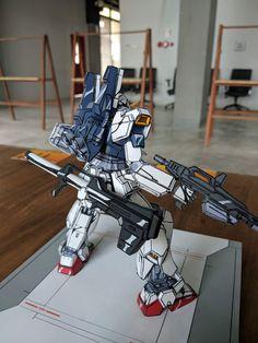 Gundam Toys, Gundam Art, Gundam Papercraft, Gundam Tutorial, Gundam Custom Build, Gundam Wing, Cartoon Painting, Mini Paintings, Gundam Model