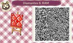 Este es un QR Code para Animal Crossing, creado por mí; como podéis observar, es un camino de diamantes, en tonos rojos. [6-9]  Lo podéis encontrar en mi canal de YouTube: https://www.youtube.com/channel/UCh6uwa2CjSgR4WQ-ghRQY6Q (Roxy).  ¡Espero qué os guste! ;)