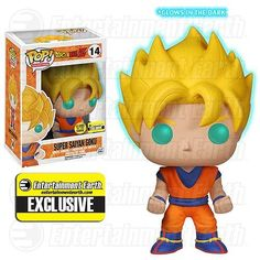 Funko Pop! Dragonball Z: Super Saiyan Goku GITD - The Mighty Collector