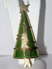 RARE Unsigned ART Modernist 1960's Christmas Tree Pin...HOT!
