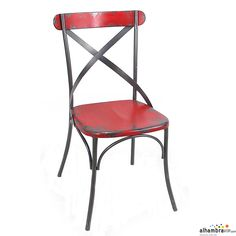Juego de sillas Vintage rojo
