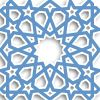 geometric shapes artistically used in arabesque decor constructions