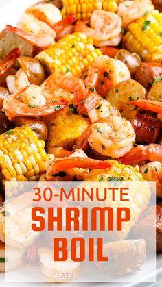 Best Shrimp Recipes, Shrimp Recipes For Dinner, Seafood Dinner, Entree Recipes, Seafood Recipes, Cooking Recipes, Healthy Recipes, Shrimp Dishes, Fish Dishes