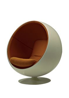 "The company marketed Eero Aarnio's 1966 Ball Chair as a meditative ""room within a room."""