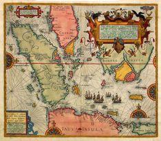 Antique map. Borneo.