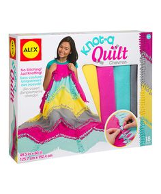 Look what I found on #zulily! Chevron Knot-a-Quilt #zulilyfinds