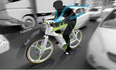 Una bicicleta que convierte el CO2 en oxígeno