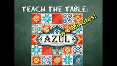 How to play Azul in 4 Minutes Tabletop Board Games, Geek Stuff, Teaching, Play, Geek Things, Education, Onderwijs, Learning, Tutorials