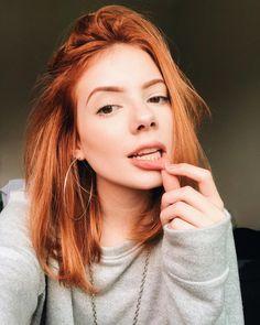 Queria ser ruiva Tumblr Selfies, Photos Tumblr, Hair Inspo, Hair Inspiration, Makeup Tumblr, Instagram Hairstyles, Image Clipart, Redhead Girl, Auburn Hair