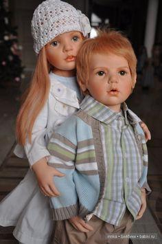 Старшая сестра. Коллекционные куклы Hildegard Gunzel - Солвейг и Флориан / Наши коллекции кукол / Бэйбики. Куклы фото. Одежда для кукол