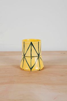Workaday Handmade makes handmade ceramics in New York City. Milking Stool, Stoneware, Cube, Objects, Porcelain, Pottery, Hand Painted, Sculpture, Ceramics