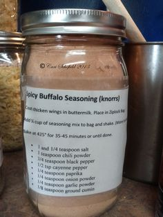 how to make buffalo seasoning powder