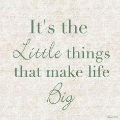 12 Best Little Things Images Denke An Dich Gedanken Weise Worte