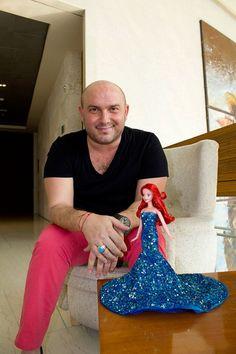 Ariel y David Salomon para Disney.