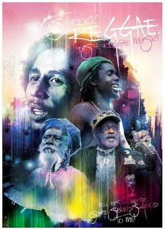 Roots Rock Reggae, Bob Marley, Peter Tosh, Lee Scratch Perry, and Burning Spear Fotos Do Bob Marley, Arte Bob Marley, Andy Warhol, Reggae Rasta, Rasta Man, Calypso Music, Ps Wallpaper, Bob Marley Pictures, Jamaican Music