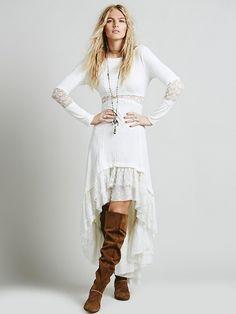 ╰☆╮Boho chic bohemian boho style hippy hippie chic bohème vibe gypsy fashion indie folk the . Bohemian Mode, Boho Chic, Hippie Chic, Boho Style, Hippie Dresses, Boho Dress, Trendy Dresses, Casual Dresses, Boho Outfits