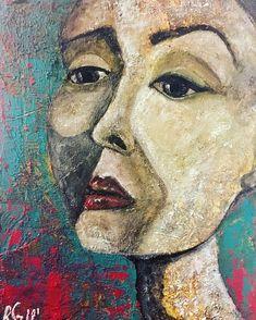Emma 30/40 acrylic on canvas by Reinecker Sandra