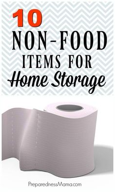 You can never be too prepared. Identify the home storage items your family does not want to be caught without. Here's a top 10 list to get you started Survival Food Kits, Emergency Preparedness Food, Emergency Food Storage, Survival Items, Emergency Preparation, Survival Supplies, Emergency Supplies, Survival Shelter, Survival Prepping