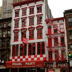 My eulogy for the Pearl Paint store in Manhattan. You will be missed. :-(