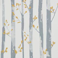 Buy John Lewis Lundby Wallpaper, Citrine Online at johnlewis.com