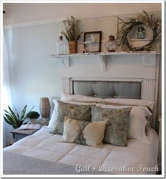 I came across this image on Pinterest a few days ago showing a bedroom where a fireplace mantel was used to create a unique headboard. Isn't it beautiful? {Coastal Living} I've stumbled upon many gorgeous vintage fireplace mantels at antique malls, flea markets, and architectural salvage stores but have left even the most droolworthy of …
