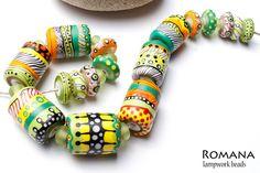 Lampwork Beads by Romana / April 2013