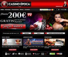 Descubre la diversión en Casino Epoca y disfruta de los miles de premios que damos todos los días.