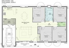 6 p. Dream House Plans, Sweet Home, Floor Plans, How To Plan, Lofts, Design, Flat Design, Home Plans, Plants