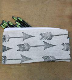Arrows Pencil Case | Women's BAGS & ACCESSORIES | Urban Bird & Co. | Scoutmob Shoppe | Product Detail