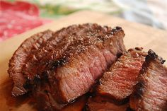London Bridge is not falling down, but you'll fall in love with this Marinaded London Broil! Simple and sweet!