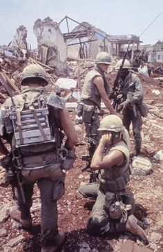 Scene in Vietnam during Operation Pegasus, 1968. Larry Burrows—The LIFE Picture Collection/Getty Images