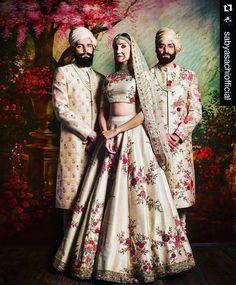 #Repost @sabyasachiofficial with @repostapp ・・・ #Sabyasachi #TheMughalGardenCollection #sabyasachibride #SummerBridal #KishandasForSabyasachi #indianfashion #indianfashionblogger #indiantextiles...