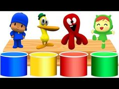 Pocoyo Finger Family Song Nursery Rhyme From HappyKids - YouTube