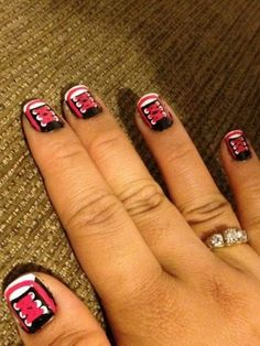 Nickie Quibol chucks inspired nails are too cute. Great job! HelloGiggles loves seeing your creative nail designs.