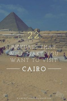 A collection of pictures that will make you want to visit Cairo. Highlights include the pyramids (obviously!) and the Nile. Egypt Travel, Africa Travel, Africa Destinations, Travel Destinations, Safari, Visit Egypt, Travel Around The World, Cool Places To Visit, Travel Photos
