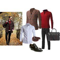 """""""Blazer outfits #26"""" #FLATSEVENSHOP.COM #men #fashion #mens clothes #denim #christmas #Blazer #shirts #shoes"""