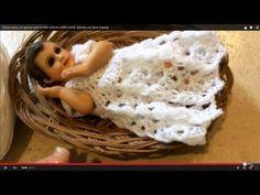2da parte - ROPÓN PARA EL NIÑO JESÚS o NIÑO DIOS- Tejido con Gancho - Tejiendo con Laura Cepeda - YouTube