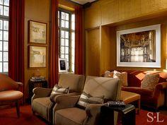Residences - Media Room - Suzanne Lovell Inc.
